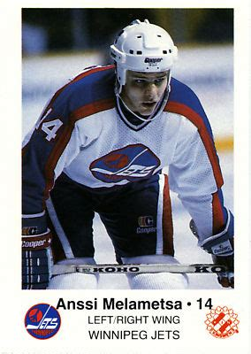 winnipeg jets   hockey card checklist  hockeydbcom