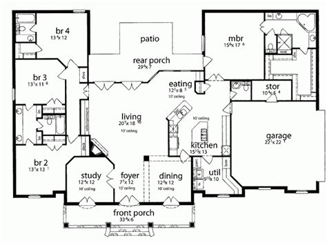 one house plans with large kitchens 1 house plans for the home
