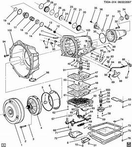 2002 Silverado Transmission Cooling Parts Diagram