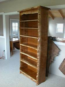 Rustic, Custom, Bookcase, Made, From, Cherry, By, Dumond, U0026, 39, S, Furniture