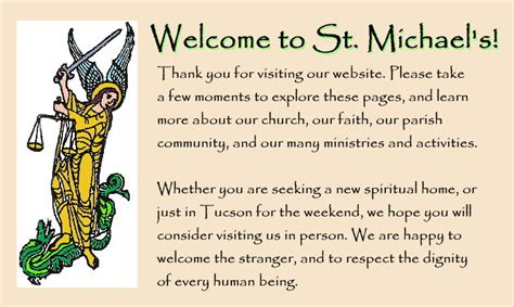 christmas welcome address for church st michael and all episcopal church st michael and all tucson strengthens