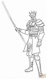 Coloring Wars Savage Opress Ahsoka Ausmalbilder Clone Sith Ausmalbild Force Kostenlos Zum Disney Darth Maul Klonkrieger Printable Gratis Supercoloring Malvorlagen sketch template