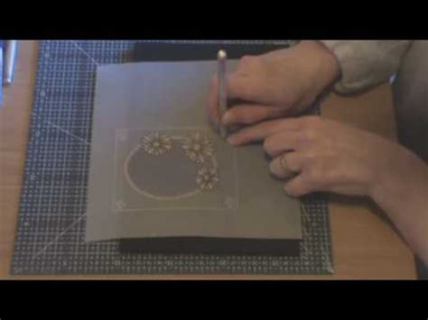 parchment craft beginners lesson  part    youtube