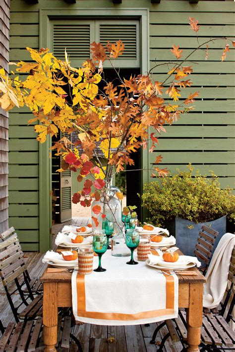 Garden Southern Setting by 90 Fall Decorating Ideas For A Beautiful Autumn Season