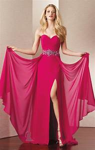Hot Pink Dresses For Women - Pjbb Gown