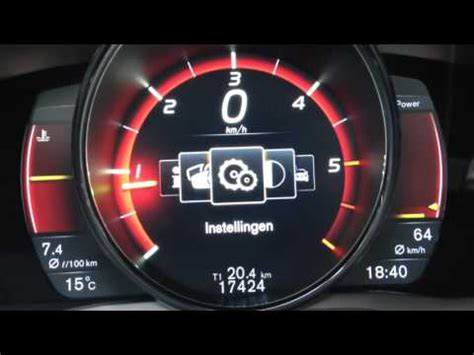 volvo xc  design dashboard overview youtube