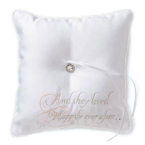 princess dreams cinderella ring bearer pillow