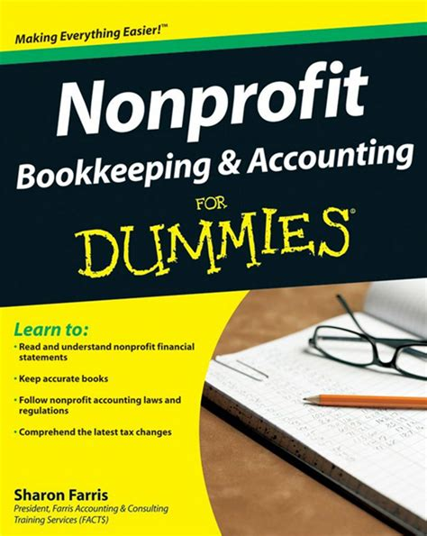 nonprofit bookkeeping  accounting  dummies