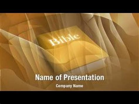 holy bible powerpoint video template backgrounds