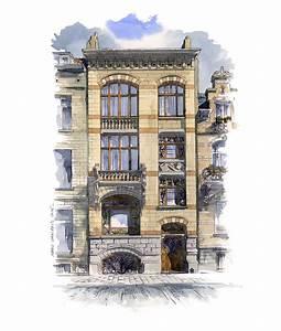 Style De Maison : aquarelles villas et maisons particuli res marc van enis ~ Dallasstarsshop.com Idées de Décoration