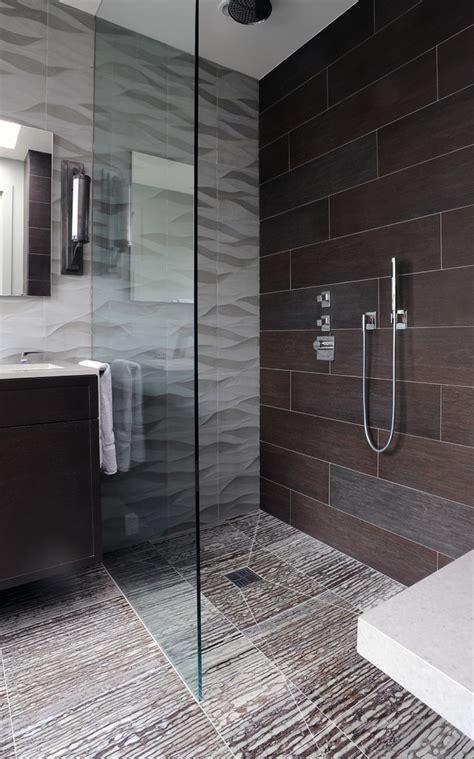 curbless shower floor Bathroom Eclectic with bathroom