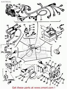 Yamaha Rd400 1976 Usa Electrical