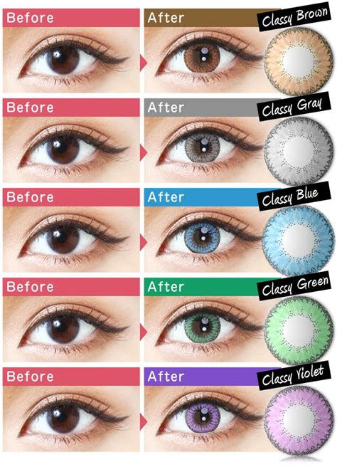 eye contacts colors 95 best colored contacts images on contact