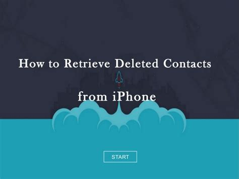 how to recover deleted contacts iphone how to retrieve contacts from iphone