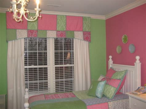 Girls Pink And Green Bedroom-traditional-kids-dc Metro