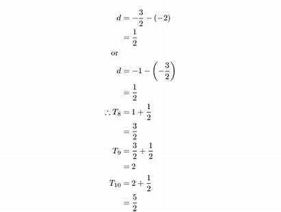 Sequences Siyavula Arithmetic Definition Example Solutions