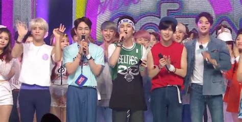 shinee swimsuit shinee secured 2nd win with view on music core daily k