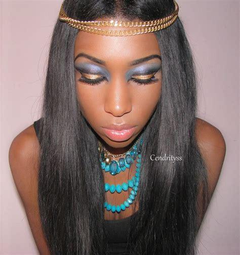 halloween   cleopatra makeup csyl cs photo