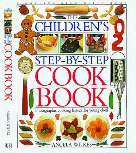 childrens step  step cookbook  ebay
