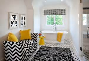 black and yellow bathroom ideas black and white bathrooms design ideas decor and accessories