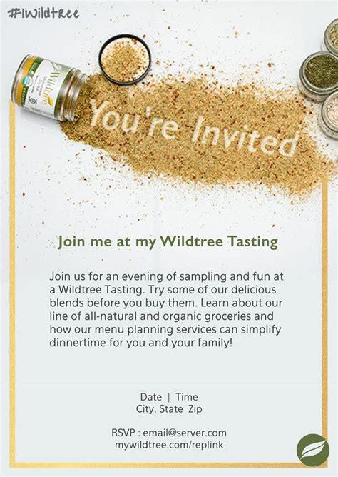wildtreetastinginvitation wildtree photo wedding