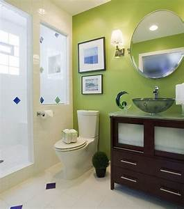 40 creative ideas for bathroom accent walls designer mag for Accent wall paint ideas bathroom