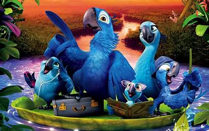 Rio Wallpapers Desktop Movies Birds Backgrounds Animated