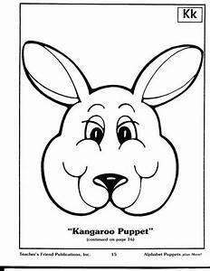 kangaroo puppet 2 2 teatro pinterest With kangaroo puppet template