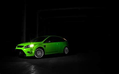 Green Car Hd Wallpaper