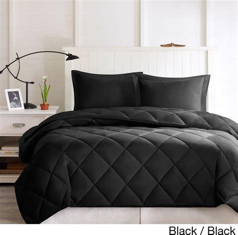 size comforter black comforter set size 3