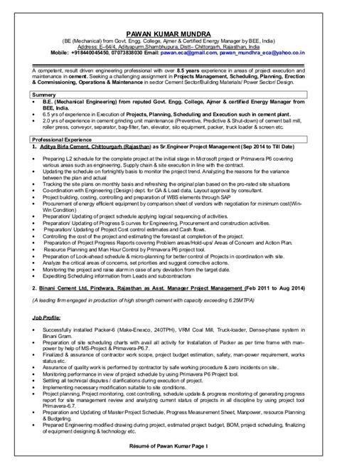 Resume Rev 2015 by Pawan Resume 2014 Rev