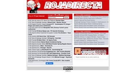 ROJADIRECTA: Ver Futbol en Vivo - Tarjeta Roja TV - Pirlo Tv
