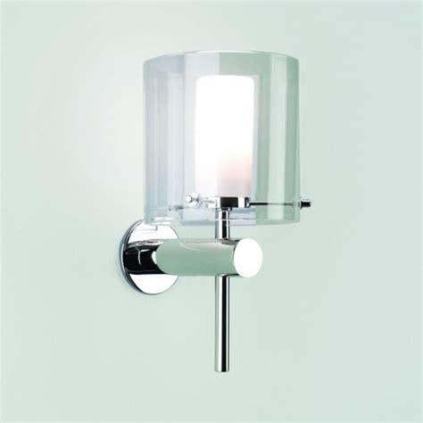 astro lighting arezzo single light bathroom wall fitting in polished chrome castlegate lights