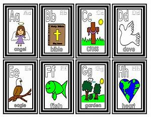 teachers r us bible alphabet small flashcards With bible alphabet letters