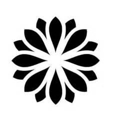 Free Printable Large Flower Stencil Patterns