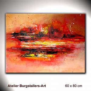 Moderne Kunst Leinwand : burgstaller moderne kunst malerei original k nstler bilder abstrakt unikat walze ebay ~ Sanjose-hotels-ca.com Haus und Dekorationen