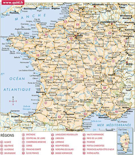 Carte De à Imprimer Avec Villes by Carte De D 233 Taill 233 E Arts Et Voyages