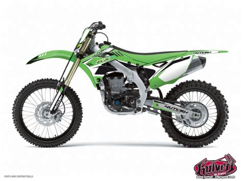kit deco 65 kx kit d 233 co moto cross chrono kawasaki 65 kx noir kutvek kit graphik