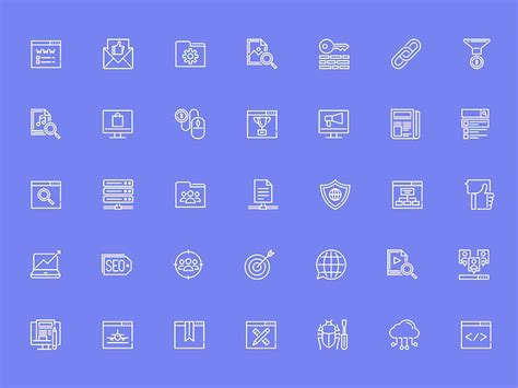 seo relevant icons sketch freebie free resource