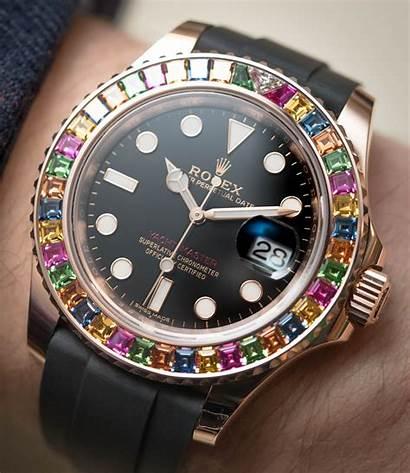 Rolex Yacht Master Bezel Gem Replica Watches
