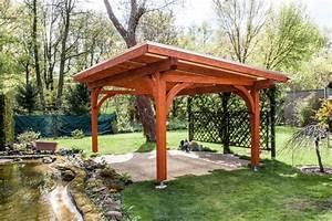 Garten überdachung Holz : holz berdachung freistehend haloring ~ Yasmunasinghe.com Haus und Dekorationen