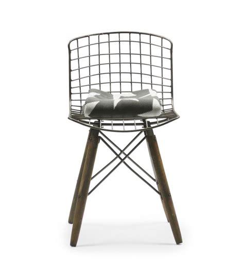 chaise fer et bois chaise design fil de fer et pieds en bois wadiga com