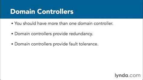 understanding   domain controller