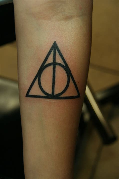 deathly hallows tattoo designs ideas  meaning