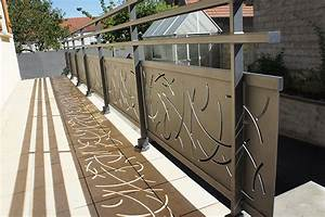 Garde Corp Terrasse : garde corps aluminium terrasse garde corps sur mesure anavi ~ Melissatoandfro.com Idées de Décoration