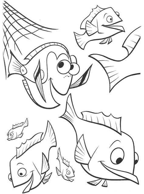 printable nemo coloring pages  kids
