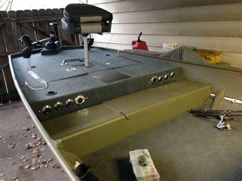 Jon Boat Garage Storage Ideas by Jon Boat Jon Boat Rod Storage