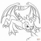 Spyro Skylanders Coloring Skylander Pages Dark Colouring Drawing Cynder Printable Dragon Tegninger Dragons Dot Paper Characters Barber Anime Cartoon Printables sketch template