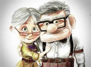 Carl and Ellie UP by LuisDawson on DeviantArt