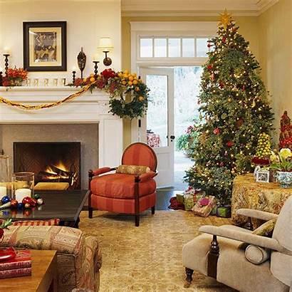 Christmas Decorations Traditional Decoration Decor Tree Living